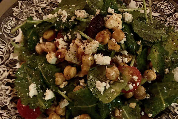 Fried Chickpea Salad thumbnail (click to enlarge)