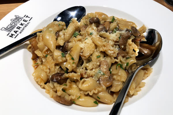 Mushroom Campanelle from Il Miglio thumbnail (click to enlarge)