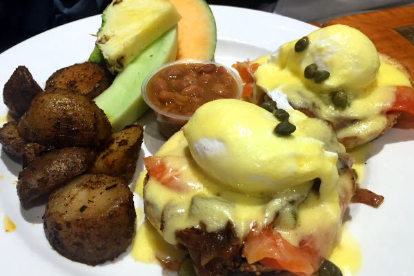 Smoked Salmon Eggs Benedict thumbnail (click to enlarge)