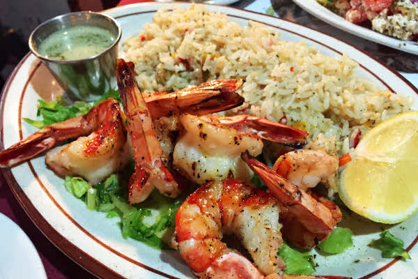 Shrimp Brochette thumbnail (click to enlarge)