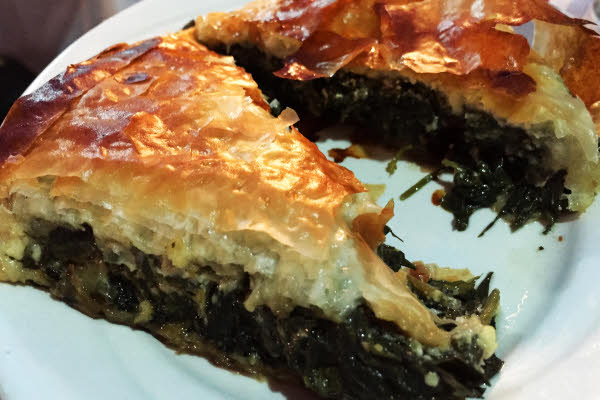Spanakopita thumbnail (click to enlarge)