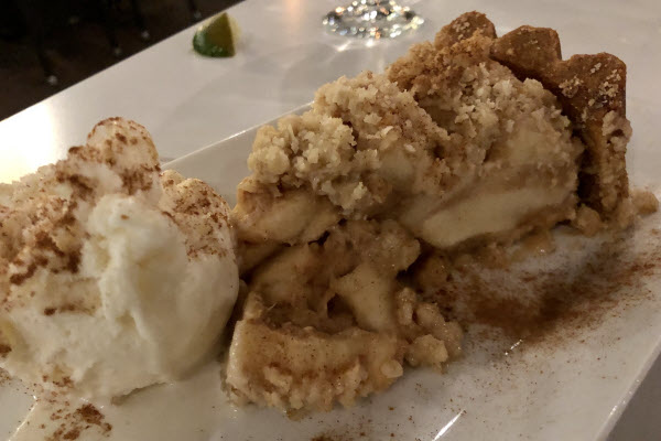 Dutch Apple Pie with Vanilla Ice Cream thumbnail (click to enlarge)
