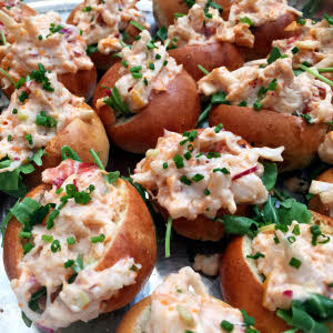 Mini Lobster Rolls thumbnail (click to enlarge)